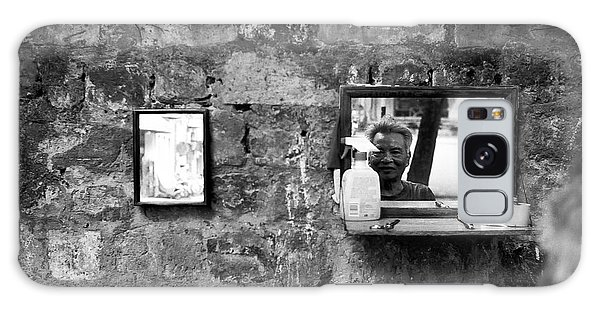Hanoi Street Barber Galaxy Case by Dean Harte