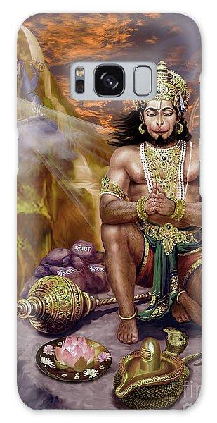 Hanuman Receives Lord Shiva's Blessings Galaxy Case