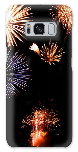 Happy 4th Of July Galaxy Case by Brook Burling