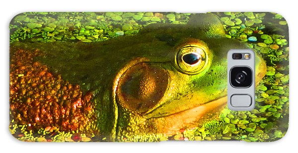 Happy As A Frog In A Pond Galaxy Case