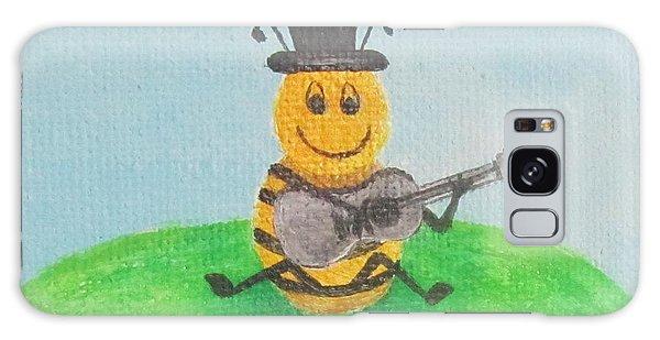 Happy Bee Galaxy Case