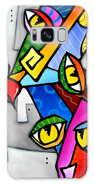 Happy By Fidostudio Galaxy Case