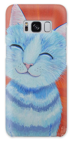 Happy Cat Galaxy Case