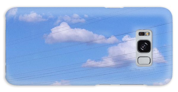 Happy Cloud Day Galaxy Case