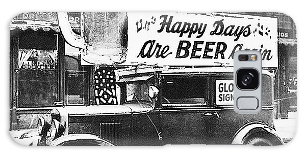 Happy Days Are Beer Again Galaxy Case