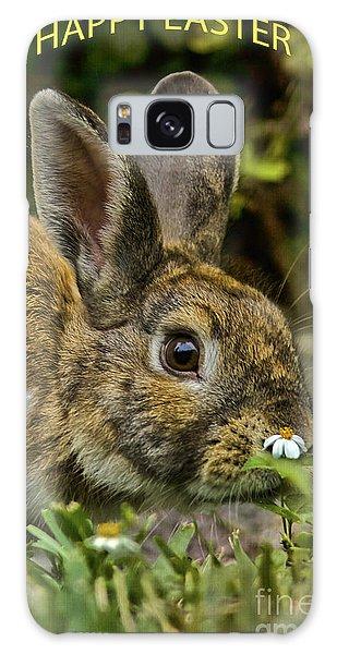 Happy Easter Galaxy Case by Anne Rodkin