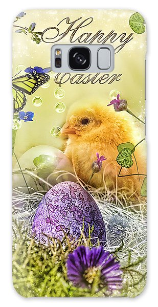 Mo Galaxy Case - Happy Easter by Mo T