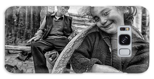 Young Galaxy Case - Happy Eyes by Veli Aydogdu