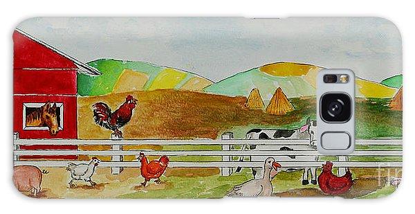 Happy Farm Galaxy Case