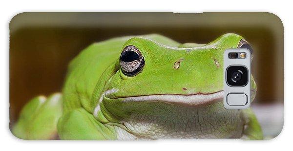 Happy Frog 0003 Galaxy Case