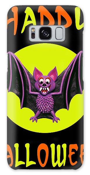 Halloween Galaxy Case - Happy Halloween Bat by Amy Vangsgard