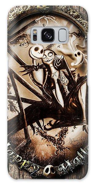 Happy Halloween IIi Sepia Version Galaxy Case