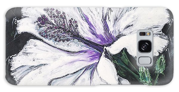 Happy Hibiscus Galaxy Case by Scott and Dixie Wiley