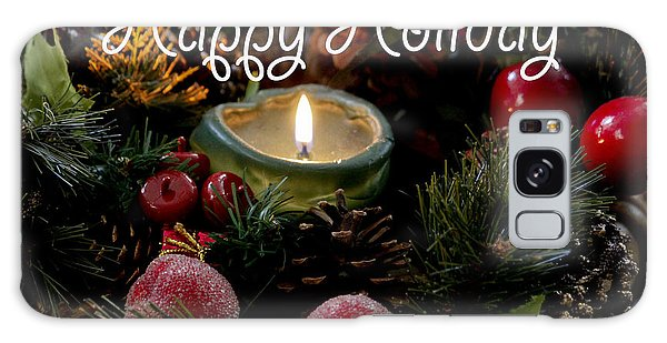 Happy Holiday Galaxy Case by Ivete Basso Photography