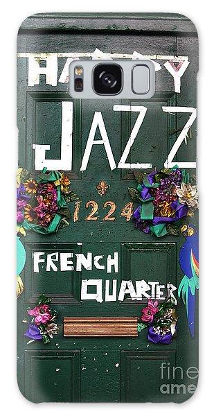 Happy Jazz Galaxy Case by John Rizzuto