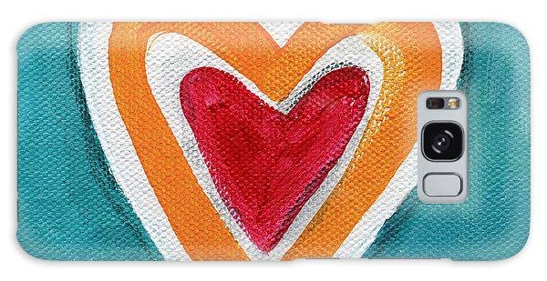 Heart Galaxy Case - Happy Love by Linda Woods