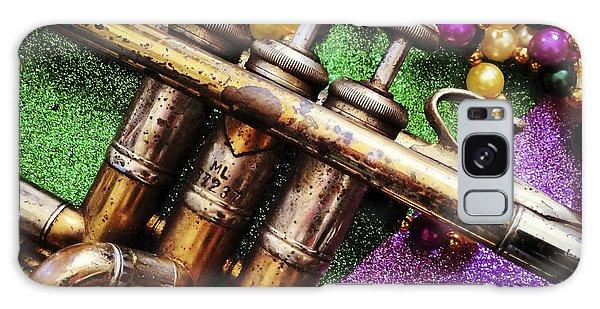 Happy Mardi Gras Galaxy Case