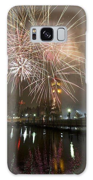 Happy New Year 2014 A Galaxy Case