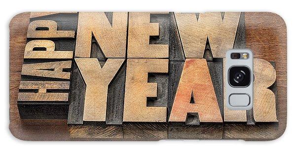 Happy New Year Galaxy Case