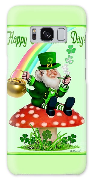 Happy St. Patrick's Day Galaxy Case