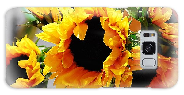 Happy Sunflowers Galaxy Case
