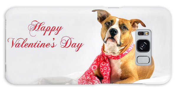 Fifty Shades Of Pink - Happy Valentine's Day Galaxy Case