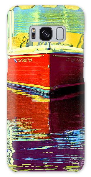 Harbor Boatin Galaxy Case by Joanne Coyle