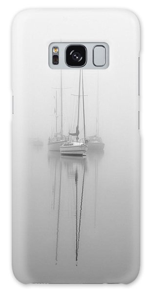 Harbor Fog No.1 Galaxy Case