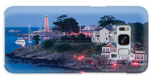 Marblehead Harbor Illumination Galaxy Case by Jeff Folger