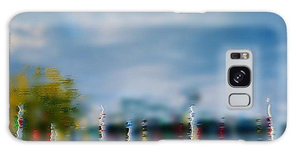 Harbor Reflections Galaxy Case