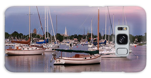 Harbor View Galaxy Case by Butch Lombardi