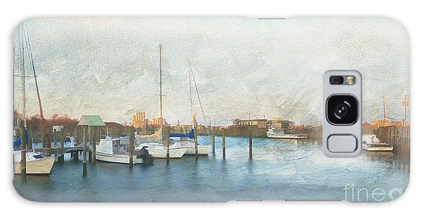 Harbor Morning Galaxy Case