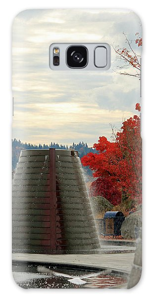 Harborside Fountain Park Galaxy Case