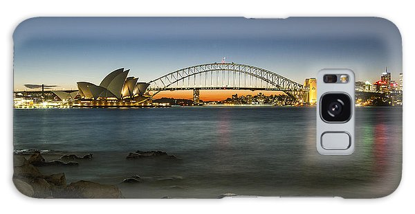 Harbour Night Galaxy Case by Andrew Paranavitana