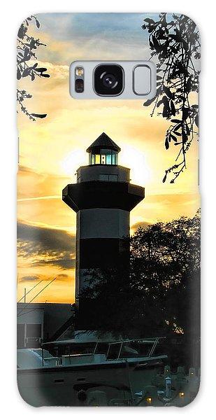 Harbour Town Lighthouse Beacon Galaxy Case