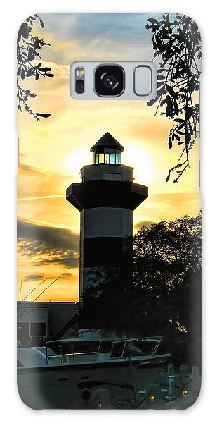 Harbour Town Lighthouse Beacon Galaxy Case