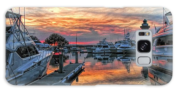 Harbour Town Yacht Basin Galaxy Case