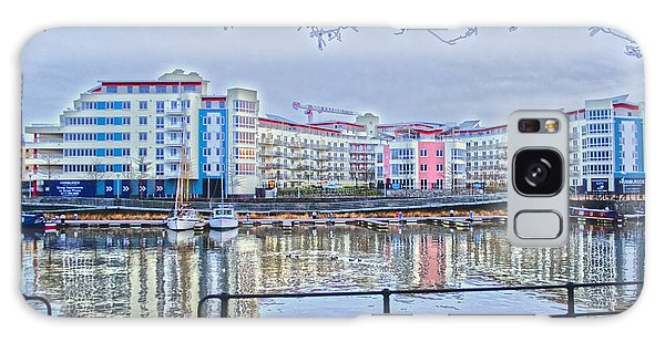 Harbourside Flats Galaxy Case by Brian Roscorla