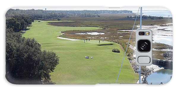 Harbourtown Golf Course 18th Hole Galaxy Case
