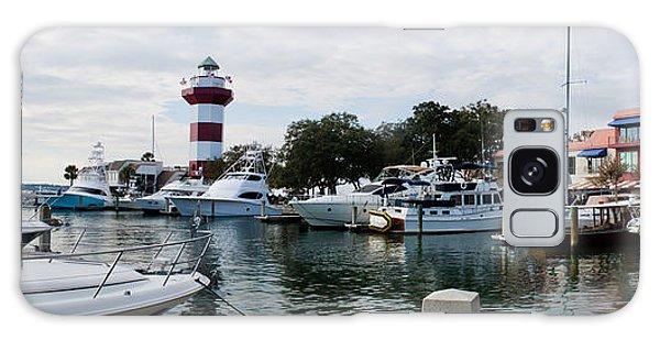 Harbourtown Harbor Galaxy Case