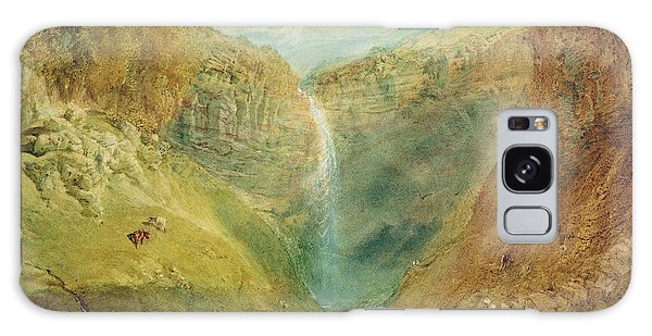 Waterfall Galaxy Case - Hardraw Fall, Yorkshire, C.1820 by Joseph Mallord William Turner
