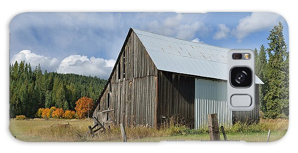 Hardy Creek Road Barn Galaxy Case