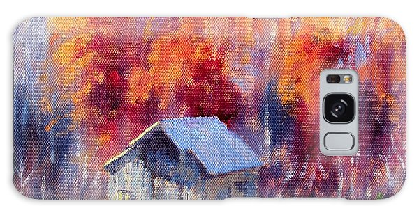 Hardy Road Barn- In Autumn Galaxy Case