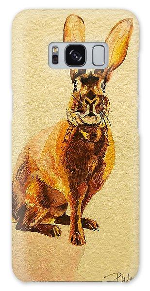 Hare Galaxy Case by Pattie Wall