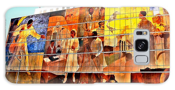Harlem Hospital Mural Galaxy Case
