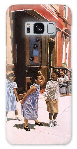 Harlem Jig Galaxy Case by Colin Bootman