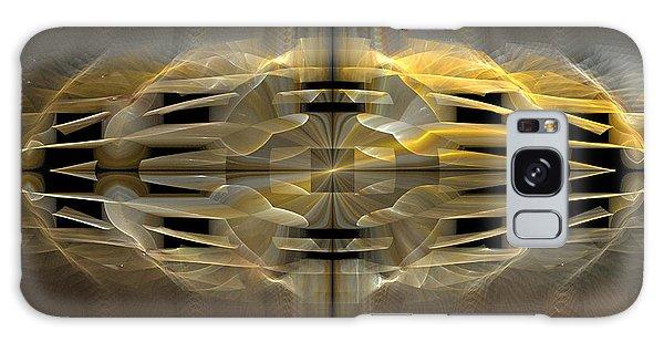 Harlequin Ruff Galaxy Case by Linda Whiteside