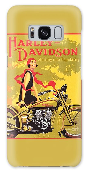 Harley Davidson 1927 Poster Galaxy Case by Reproduction