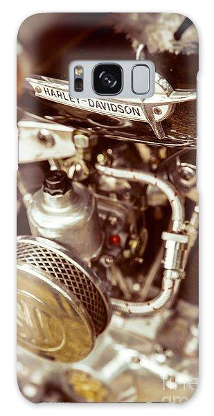 Harley Davidson Closeup Galaxy Case by Carsten Reisinger
