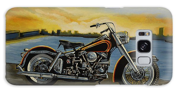 Motorcycle Galaxy Case - Harley Davidson Duo Glide by Paul Meijering